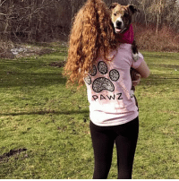 Thanks @mirandazalocka for the support in our grapefruit mosaic tee! Order now at PawzShop.com 🐾🐶: ANZ Thanks @mirandazalocka for the support in our grapefruit mosaic tee! Order now at PawzShop.com 🐾🐶