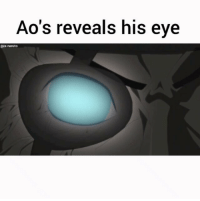 Anime, Memes, and Naruto: Ao's reveals his eve  @is.naruto What colour is your eye? - Follow me (@is.naruto) for more . - follow (sevenths.hokage)🙏 Ignore the hashtags😉 . . . Naruto narutoshippuden narutogaiden narutomovie narutothelast naruhina hinata free! erased onepunchman bokudakegainaimachi osomatsusan tokyoghoul attackontitan aot anime manga otaku japan owarinoseraph mika yuu sasuke minakushi musaigennophantomworld myriadcolorsphantomworld sao
