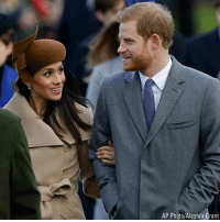 The royals attend the traditional Christmas Day service, at St. Mary Magdalene Church in Sandringham, England.: AP Photo/Alastair Grant The royals attend the traditional Christmas Day service, at St. Mary Magdalene Church in Sandringham, England.