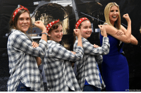 Girls, Memes, and Ivanka Trump: AP Photo/John Beale On Tuesday, Ivanka Trump visited Astrobotic, a space robotics technology company in Pittsburgh. During her time there, she toured the facility and met with students of the Girls of Steel Robotics initiative.