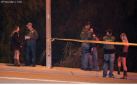 Breaking News: Twelve people, including a sheriff's sergeant, were killed Wednesday night in a shooting at a Thousand Oaks, Calif., bar. The body of the gunman, who was not immediately identified, was later found inside the establishment.: AP Photo/Mark J. Terrill Breaking News: Twelve people, including a sheriff's sergeant, were killed Wednesday night in a shooting at a Thousand Oaks, Calif., bar. The body of the gunman, who was not immediately identified, was later found inside the establishment.