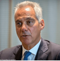 Chicago, Memes, and Office: AP Photo/Mark Schiefelbein Chicago Mayor Rahm Emanuel announced Tuesday he will not seek re-election for a third term in office. He had been in the position since 2011.