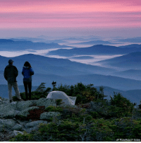 Memes, Sunrise, and Before Sunrise: AP Photo Robert F. Bukaty This photo shows the moment just before sunrise from a campsite on the Appalachian Trail in Beans Purchase, N.H.