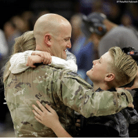 @USArmy Sgt. Shawn Sullivan, who has been away from his family for 11 months, nine of them in Afghanistan, surprises his son and daughter during a timeout at an @NBA basketball game between the Phoenix @Suns and @SacramentoKings.: AP PhotoyRich Pedroncelli @USArmy Sgt. Shawn Sullivan, who has been away from his family for 11 months, nine of them in Afghanistan, surprises his son and daughter during a timeout at an @NBA basketball game between the Phoenix @Suns and @SacramentoKings.