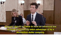 phdintvwatching:  Parks and Rec gets real.   Parks and Rec is always real.: Aperson should not have to have an advanced law  degree toavoidlbeing taken advantage of by a  multibillion dollar company. phdintvwatching:  Parks and Rec gets real.   Parks and Rec is always real.