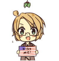 aph-lithuania:  Who will you get a kiss from underneath the mistletoe this year? Why don't you drag and find out?! :D : aph-lithuania:  Who will you get a kiss from underneath the mistletoe this year? Why don't you drag and find out?! :D