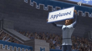 Photo taken at the State of the Union Address by President Trump (2018, colorized): Applause Photo taken at the State of the Union Address by President Trump (2018, colorized)