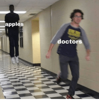 Target, Tumblr, and Blog: apples  doctors memehumor:Doctors Hate Them!