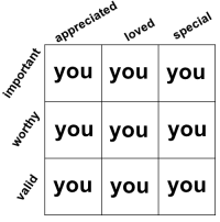 You You You: appreciated  nt  loved  you you you  special  o you you you  you you you