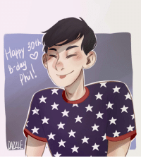 "<p><a href=""http://dazzlehere.tumblr.com/post/156554356588/happy-30th-birthday-amazingphil"" class=""tumblr_blog"" target=""_blank"">dazzlehere</a>:</p> <blockquote><p>Happy 30th birthday <a class=""tumblelog"" href=""https://tmblr.co/mSxgMqvB97p6Vzpbn6_o6DQ"" target=""_blank"">@amazingphil</a></p></blockquote>: appy 30th  b dey  Phil  AZZI <p><a href=""http://dazzlehere.tumblr.com/post/156554356588/happy-30th-birthday-amazingphil"" class=""tumblr_blog"" target=""_blank"">dazzlehere</a>:</p> <blockquote><p>Happy 30th birthday <a class=""tumblelog"" href=""https://tmblr.co/mSxgMqvB97p6Vzpbn6_o6DQ"" target=""_blank"">@amazingphil</a></p></blockquote>"