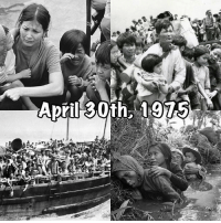 "Fall, Journey, and Memes: April 30th Today is April 30th. 42 years ago marked the Fall of Saigon. It's a day of mourning, a day of remembrance, not just for the lives lost during the war but the lives lost during the journey to seek freedom. As we reflect upon and commemorate this day, may we be mindful of those who have suffered and perished in the conflict. Let us acknowledge the progress, setbacks, and ongoing challenges facing our communities as we continue forward. And may the painful moniker of ""boat people"" remind us that war is not about winning and losing, it's about the unwarranted lost of lives, hopes, and dreams. 🙏 fallofsaigon blackapril"