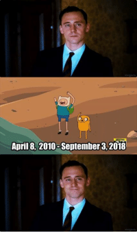 Dank, Journey, and Thank You: April 8, 2010-September 3,2018 Thank you for taking us on the adventurous journey.