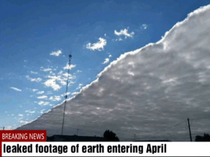 April is here boys: April is here boys