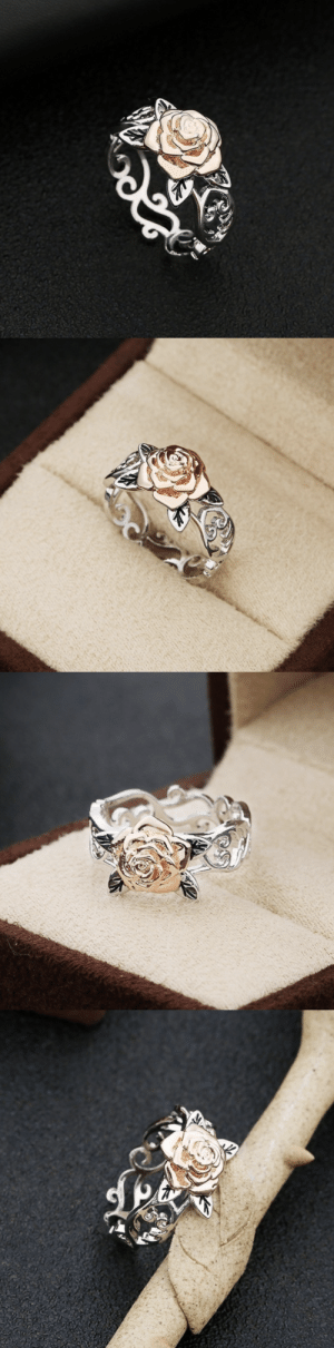 aprillove95: livelaughlovematters:  This beautiful and exquisite two tone silver floral ring is the perfect gift for anyone! => AVAILABLE HERE <=    I want this ring  : aprillove95: livelaughlovematters:  This beautiful and exquisite two tone silver floral ring is the perfect gift for anyone! => AVAILABLE HERE <=    I want this ring