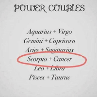 Aquarius, Aries, and Cancer: Aquarius+ Virgo  Gemini + Capricorn  Aries+Saoa  Scorpio Cancer  eo ISO  Pisces Taurus