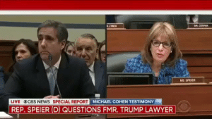 """How many times has an Atlanta team choked in the playoffs?"" https://t.co/22jPZI7INL: AR COOPER  LYNCH  wwwH  MS. SPEIER  LIVE CBS NEws SPECIAL REPORT MICHAEL COHEN TESTIMONY  REP. SPEIER (D) QUESTIONS FMR. TRUMP LAWYER ""How many times has an Atlanta team choked in the playoffs?"" https://t.co/22jPZI7INL"