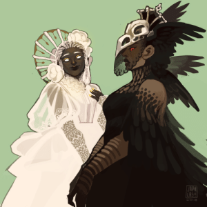 Target, Tumblr, and Queen: AR  JE japhers: Goddess of Fate and the Raven Queen