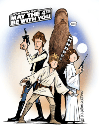 May the 4th: 'AR WARS DAY  MAY THE 4TH)  BE WITH YOU  HURF  Lloallnd NOSYP CD)
