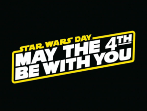 Punny meme lol: AR WARS DAY  MAY THE 4TH  BE WITH YOU Punny meme lol