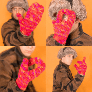 For fun I design fake product ideas, so I created a pair of mittens with a solo finger so you can still flip them off.: ARA For fun I design fake product ideas, so I created a pair of mittens with a solo finger so you can still flip them off.