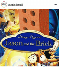 Haha this was funny @aragingfangirl: araging fangirl  Disney-cHyperion  Jason and the Brick Haha this was funny @aragingfangirl