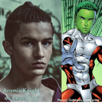 Aramis Knight cast as Beast Boy in TITANS tv show for DC's upcoming digital service. (NOT OFFICIALLY ANNOUNCED) BeastBoy AramisKnight Titans GeoffJohns dccomics dceu warnerbros starfire nightwing superboy raven heroic_gateway @heroic.gateway 🚨REMEMBER THIS IS JUST RUMORS TAKE THEM WITH A GRAIN OF SALT🚨: Aramis Knight  as Be  Heroic.Gatewdy/Instggram Aramis Knight cast as Beast Boy in TITANS tv show for DC's upcoming digital service. (NOT OFFICIALLY ANNOUNCED) BeastBoy AramisKnight Titans GeoffJohns dccomics dceu warnerbros starfire nightwing superboy raven heroic_gateway @heroic.gateway 🚨REMEMBER THIS IS JUST RUMORS TAKE THEM WITH A GRAIN OF SALT🚨