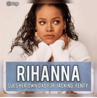 "Rihanna is suing her father for using her and her Fenty brand to launch his own business.⁣ -⁣ According to reports, Rihanna's father, Ronald Fenty, launched a Talent Development company in 2017 and named it ""Fenty Entertainment"" but Rihanna already trademarked the name ""Fenty"".⁣ -⁣ Rihanna stated that her father is profiting off the reputation she's made with her brand 'Fenty'. ⁣ -⁣ The father even tried to falsely advertise himself as Rihanna's rep to steal millions of dollars.⁣ -⁣ Rihanna even tried to send her father a cease and desist letter but he's ignored those letter so Rihanna is asking the judge for some help.⁣ -⁣ RapTVSTAFF: @thatkidcm⁣ 📸 @fentybeauty⁣: arap  SUES HER OWN DAD FOR JACKING FENTY Rihanna is suing her father for using her and her Fenty brand to launch his own business.⁣ -⁣ According to reports, Rihanna's father, Ronald Fenty, launched a Talent Development company in 2017 and named it ""Fenty Entertainment"" but Rihanna already trademarked the name ""Fenty"".⁣ -⁣ Rihanna stated that her father is profiting off the reputation she's made with her brand 'Fenty'. ⁣ -⁣ The father even tried to falsely advertise himself as Rihanna's rep to steal millions of dollars.⁣ -⁣ Rihanna even tried to send her father a cease and desist letter but he's ignored those letter so Rihanna is asking the judge for some help.⁣ -⁣ RapTVSTAFF: @thatkidcm⁣ 📸 @fentybeauty⁣"