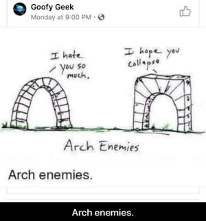 Arch Enemies by Eagles_Watch MORE MEMES: Arch Enemies by Eagles_Watch MORE MEMES