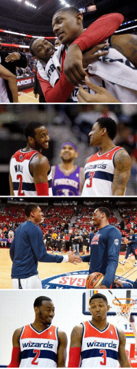 I just want a girl who will look at me like John Wall looks at Bradley Beal 😍❤️: ARDSI   WAll  zarcis  o A   wizards  Wizards I just want a girl who will look at me like John Wall looks at Bradley Beal 😍❤️