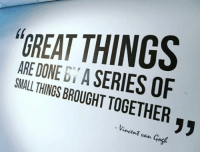 Friday, Vans, and Vincent Van Gogh: ARE DONE A  SERIES OF  SMALL THINGSBROUGHT TOGETHER  Vincent van Gogh Happy Friday🚀 motivation success engineering engineer engineeringrepublic engineering engineers science physics electricalengineering civilengineerIng mechanicalengineering begreat friday