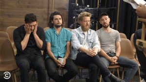 Are Mumford & Sons the right house band for Lights Out? David Spade investigates.: Are Mumford & Sons the right house band for Lights Out? David Spade investigates.