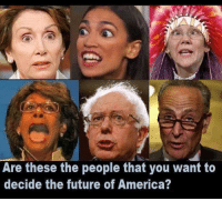 America, Future, and Forwardsfromgrandma: Are these the people that you want to  decide the future of America?