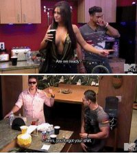 Vinny was the best character on Jersey Shore 😂 https://t.co/7Cbs0nlOTA: Are we ready?   Jenni, you forgot your shirt Vinny was the best character on Jersey Shore 😂 https://t.co/7Cbs0nlOTA
