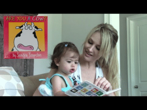 meme-mage:    Are You a Cow?   Story Time With Anna Review     Maya and Anna read the short, cute and funny baby board book, Are You a Cow? by Sandra Boynton.   : ARE YOU A COW?  Sandra Boynton meme-mage:    Are You a Cow?   Story Time With Anna Review     Maya and Anna read the short, cute and funny baby board book, Are You a Cow? by Sandra Boynton.