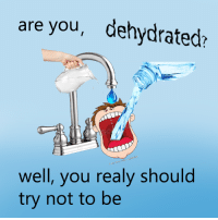 Dank, 🤖, and Dehydration: are you, dehydrated?  well, you realy should  try not to be