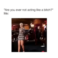 """HAPPPPY MONDAY MY PEOPLE!!! - Follow @basicbitch for more!: """"Are you ever not acting like a bitch?""""  Me: HAPPPPY MONDAY MY PEOPLE!!! - Follow @basicbitch for more!"""