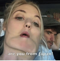 Bae, Dank, and Japan: are you from Japan? When you put your best moves on bae 😂😂  by Laura Clery