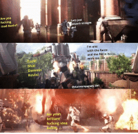 Just a quick Kevin meme, as soon as I saw this scene I thought it was a stupid move, a Kevin move starwars starwarsmeme starwarsmemes starwarsbattlefront starwarsbattlefront2 clonewars clonetrooper clones clone droids darthmaul game jedi sith: Are you  fucking  mad Kevin?  Lets just  etpack straight  out  I'm one  with the force  and the force is  with me  Shit!  Dammit  Kevin!  @starwarsparody 501  Aw yea  brilliant  fucking idea Just a quick Kevin meme, as soon as I saw this scene I thought it was a stupid move, a Kevin move starwars starwarsmeme starwarsmemes starwarsbattlefront starwarsbattlefront2 clonewars clonetrooper clones clone droids darthmaul game jedi sith