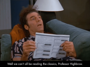 Are you reading my VCR manual?: Are you reading my VCR manual?