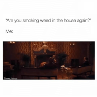 """Smoking, Weed, and House: Are you smoking weed in the house again?""""  Me:  @weedhumor Ima smoke wherever I please 🤪"""