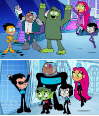 Are you team StarWars or StarTrek? Don't miss the NEW Teen Titans GO! space-tacular adventure special tonight at 6P! 🚀: Are you team StarWars or StarTrek? Don't miss the NEW Teen Titans GO! space-tacular adventure special tonight at 6P! 🚀