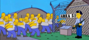 The Simpsons did it first: AREA 51  morbach The Simpsons did it first