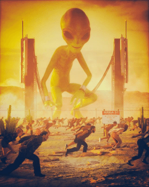 Soon..., Area 51, and Area: AREA 51  o TREPASSING  SEYOND TH  PONT Soon