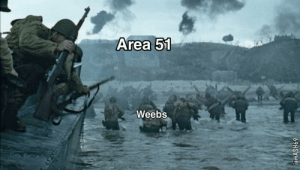 Never back down: Area 51  Weebs  iamASH69 Never back down
