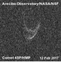 "Nasa, Tumblr, and Blog: Arecibo Observatory/NASA/NSF  Comet 45P/HMP12 Feb 2017 <p><a href=""http://photos-of-space.tumblr.com/post/157292467682/video-of-green-comet-45p-puts-you-close-to-the"" class=""tumblr_blog"">photos-of-space</a>:</p>  <blockquote><p>Video of Green Comet 45P Puts You Close To The Action</p></blockquote>"