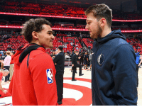 "Nature, Blood, and Rachel Nichols: ARENA Trae Young says he will be better than Luka Doncic in 5-10 years: ""In my eyes, it's not a question … But that's just the competitive nature in my blood,"" per Rachel Nichols"