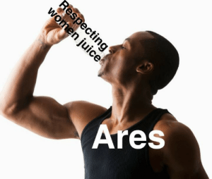 incorrectgreekquotes:  I feel like this is relevant: Ares incorrectgreekquotes:  I feel like this is relevant