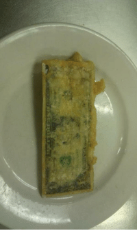 Tumblr, Blog, and Http: arkgoz:  meanplastic:  a fried one dollar bill  A crisp one dollar bill