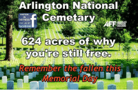 Facebook, Memes, and 🤖: Arlington National  Cemetary  NATION  IN  DISTRESS  like us on  AFF  facebook  624 acres of Whv  acres OfWn  you're still  AememDer the tali eniEniS REMEMBER THE FALLEN!  Nation In Distress