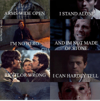 I love this edit so much. It is mine so please give credit if you repost 😁 Song: Wrong Side of Heaven by FFDP: ARM  WIDE OPEN  I STAND ALON  AND IM NOT MADE  I'M NO HERO  OF STONE  TOR WRONG  I CAN HARD  TELL I love this edit so much. It is mine so please give credit if you repost 😁 Song: Wrong Side of Heaven by FFDP